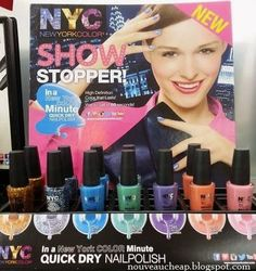 Spotted: New NYC In A New York Color Minute Nail Polish shades for 2014