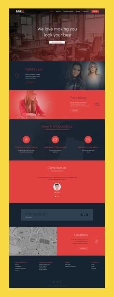Website design by Deepesh Fagna at Coroflot.com