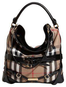 Burberry Gosford Penny Lane Hobo Bag