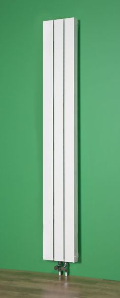 An aluminium radiator that is well priced offering plenty of Watts/BTUs per £. Upright Radiators, Vertical Radiators, Contemporary Radiators, Contemporary Style, Bathroom Radiators, Stair Landing, Ral Colours, Narrow Kitchen, Aluminum Radiator