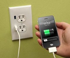 USB Wall Charging Outlet
