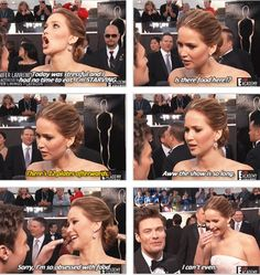 This is why I love her!!!! hahahahaha Jennifer Lawrence everybody!