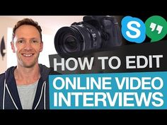 Editing Online Interviews: How to Edit Skype Interview Footage - YouTube