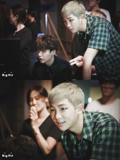 Rapmonster Behind the Scene / 방탄소년단