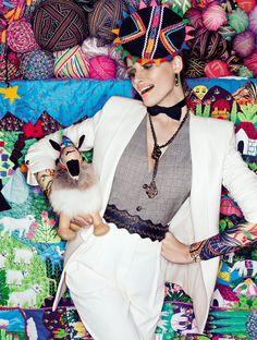 """Duas Vias"" editorial Vogue Brasil in Lima Perú"