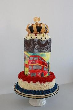 Jubilee cake by Valeri Valeriano of Queen of Hearts Couture Cakes