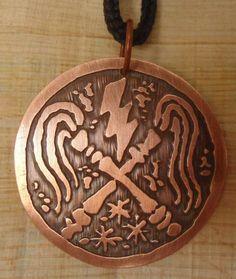 Medalha Chicotes De Iansã Oyá -medalhas De Umbanda Candomblé - R$ 35,00