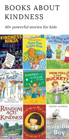 Discover 40+ powerful books for kids that encourage kindness, strengthen relationships, and do their part to make the world a happier place. #books #kids #socialemotionallearning via @https://www.pinterest.com/fireflymudpie/