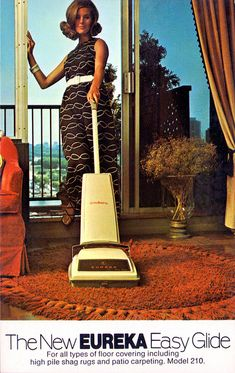 eureka_easy_glide_vaccum_cleaner | Because when I'm vacuuming I stand on a balcony and make sure it's nothing strenuous, like a tiny area rug..