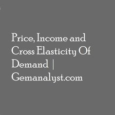 Elasticity of demand can assist management in making pricing decisions. We are going to look at some pricing strategies management can adopt while considering the price elasticity of their products. Economics, Management, How To Make, Products, Finance, Gadget
