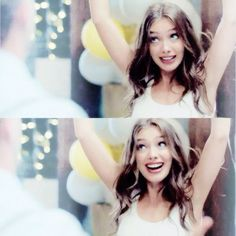 Neslihan Atagül as Nihan ..she is like a child sometimes..