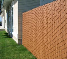 Chain Link Fence Privacy Ideas privacy slat for chain link fence | home exterior ideas