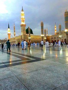 MashaAllah, Very Beautiful Sight. Madina Madina
