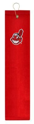 McArthur Sports MLB Embroidered Tri-Fold Golf Towel - Cleveland Indians