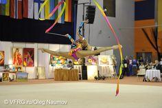 Margarita Mamun rhythmic gymnastics ribbon
