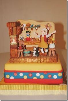Pinnochio cake