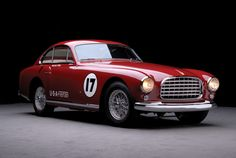 Scuderia Supremo:  1951 Ferrari 340 America Coupe.    Old is good.