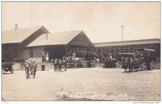 RP: Train at North Creek Delaware & Hudson Co. Railroad Depot , NORTH CREEK , New York , PU-1914 - Delcampe.com