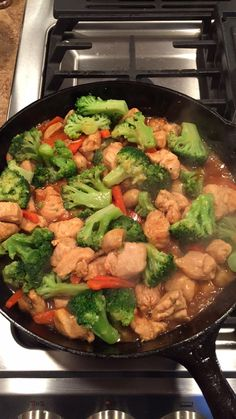 Teriyaki chicken with Vegetables. I did this and it was delicious!! I served it over fried rice. Age:19