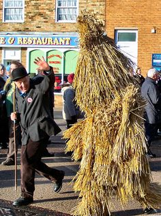The Straw Bear Festival