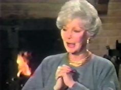 Loretta Young's rare television interview with Barbara Hower to promote her first made-for-television movie, Christmas Eve. Clip courtesy Paramount Television.