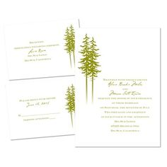 new heights 3 for 1 invitation | wedding invitation kits at Invitations By Dawn
