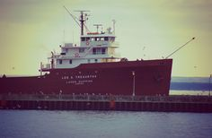 ship in Duluth, MN on Lake Superior
