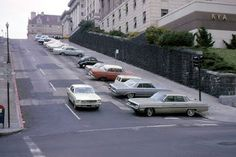 Mason St at Pine St, at the oldest, 1964