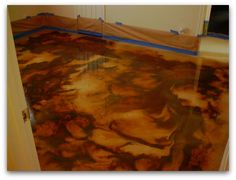How To Stain Concrete Floors – The Easy Way :Construction ...