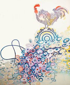 トワイライト Popular Tattoos, Collage Art, Collages, Printmaking, Twilight, Rooster, Disney Characters, Fictional Characters, Japanese