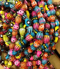 Hand painted gumnut jewellery by Doreen Driffen Creative Crafts, Wood Crafts, Craft Projects, Crafts For Kids, Arts And Crafts, Craft Ideas, Urban Jewelry, Jewelry Art, Earth Day Activities