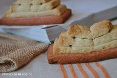 Galletas libro de rosa y vainilla - rose and vanilla books biscuits