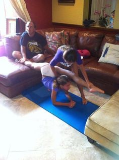 Family Stretch time!