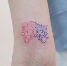 Cute Tiny Tattoos, Dainty Tattoos, Pretty Tattoos, Mini Tattoos, Body Art Tattoos, Small Tattoos, Tatoos, Cat Tattoos, Friend Tattoos