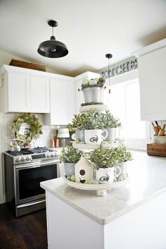 Spring Three Tiered Tray -