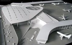Flying Architecture, Scale Model Architecture, Library Architecture, Concept Architecture, Perth Airport, Delhi Airport, Architectural Scale, Airport Design, Arquitetura