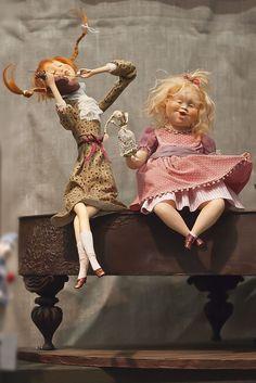 Аня-Маня. Еще позитивчик Куклы ручной работы (2012 VIII салон на Тишинке)