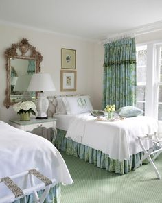 105 french country bedroom decor and ideas 68 Home Bedroom, Bedroom Decor, Bedding Decor, Bedding Sets, Bedroom Ideas, Bedroom Drapes, Master Bedroom, Monogram Bedding, French Country Bedrooms