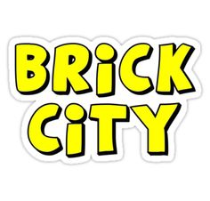 """Brick City by Customize My Minifig"" Stickers by ChilleeW 