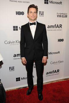 Matt Bomer - amfAR Inspiration Gala #suits