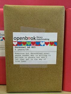 Literary Hoots: Library Display: Blind Date with a Book                                                                                                                                                                                 More                                                                                                                                                                                 More