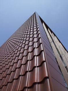 Archello Amsterdam School, Ramen, Louvre, Building, Detail, Buildings, Construction