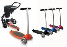 plataforma para el carrito y patinete a la vez