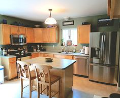 We provide best Kitchen Renovations in Burlington. We offer professionals and experts for the Renovations services. Call us today at Apartment Party, Diy Apartment Decor, Apartment Renovation, Apartment Design, Bedroom Apartment, Small Kitchen Appliances, Cool Kitchens, Contemporary Kitchen Furniture, Kitchen Work Tables