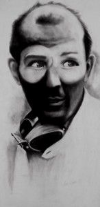 Stirling Moss by Sean Coupe