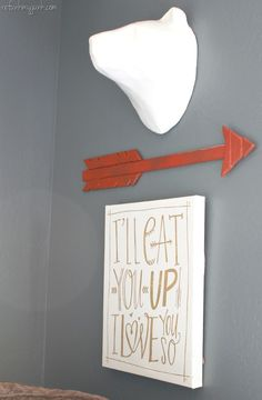Nursery wall art - nursery ideas