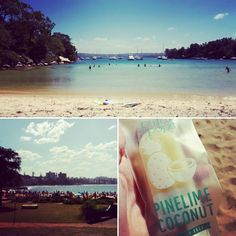 Ice cream and sunshine a perfect combination for a girl's day out at the beach! #sun #newfriends #glt #girlstime #beach #icecream #snorkeling #shellybeach #manly #sydney #australia