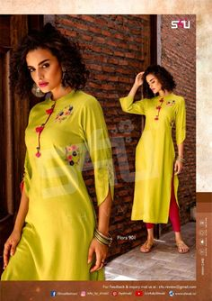 S4U SHIVALI FLORA VOL 9 LATETST KURTIS CATALOGUE MANUFACTURER AT BEST PRICE (3)