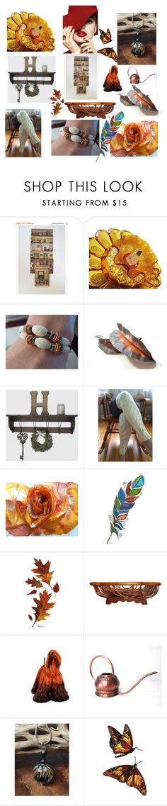 """Gorgeous finds on Etsy"" by anna-recycle ❤ liked on Polyvore featuring CAVO, MCM, modern, rustic and vintage"