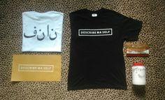 Our sablon t-shirt